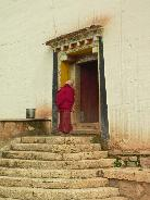 Entering the Temple - Somtsenling Monestary, Zhongdian, Yunnan Province, China